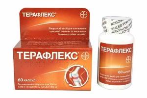 Клиническая эффективность комбинированного хондропротекторного препарата Терафлекс