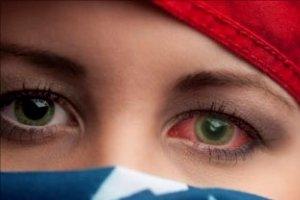 Травмы роговицы глаза