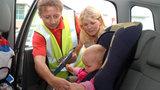 Правильная установка детского автомобильного кресла