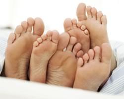 Узнай мужчину по пальцам его ног!