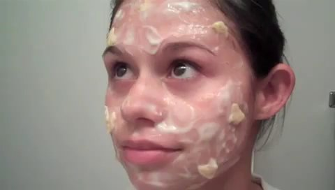 Сперма как маска для лица
