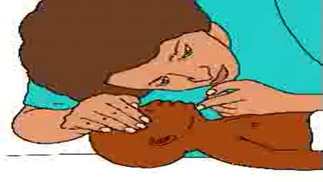 Как делать искусственное дыхание новорожденным