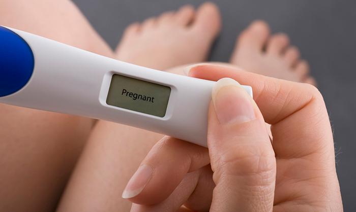 Тест на беременность медицинский